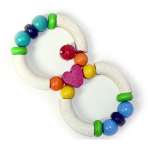 """Hess - Spielzeug medinis lavinamasis žaislas """"Širdis"""""""
