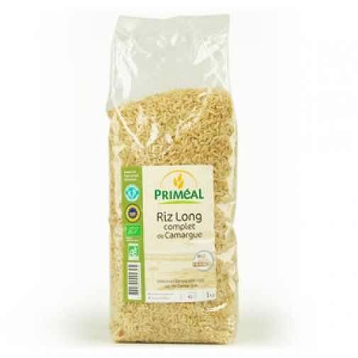 Primeal ekologiški rudieji ilgagrūdžiai ryžiai, 1kg