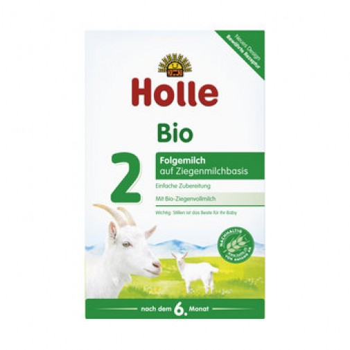 Holle ekologiškas tolesnio maitinimo ožkų pieno pagrindu mišinys, kūdikiams nuo 6 mėn, 400 g