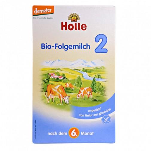 Holle ekologiškas pieno mišinys 2, kūdikiams nuo 6 mėn, 375g (15x25g)