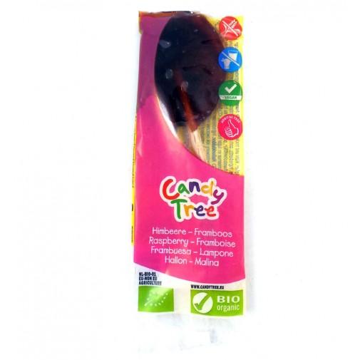Candy Tree ekologiškas ledinukas ant pagaliuko su aviečių sultimis