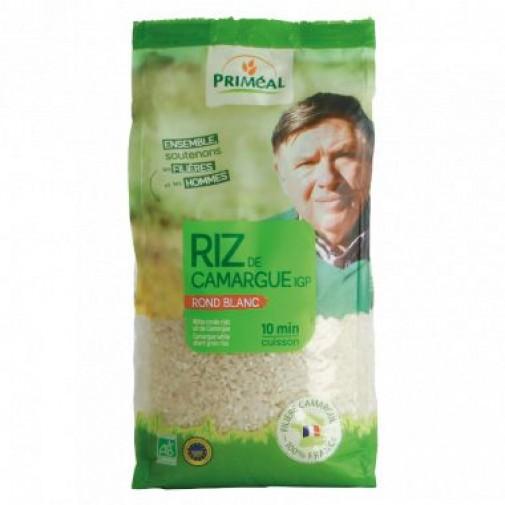 Primeal ek. balti trumpagūdžiai ryžiai iš Kamargos regiono, 500g