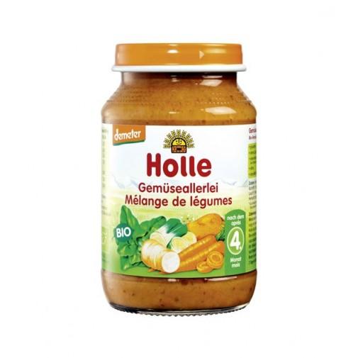 Holle biodinaminė įvairių daržovių tyrė
