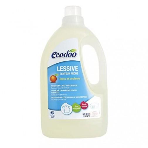 Ecodoo Koncentruotas skalbimo skystis ( 48 skalbimų ) su persikais ir apelsinais