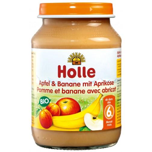Holle ekologiška obuolių, bananų ir abrikosų tyrė