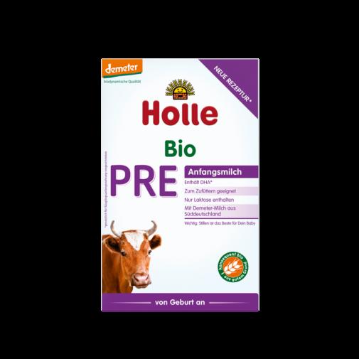 Holle  biodinaminis - ekologiškas pradinis pieno mišinys PRE, kūdikiams nuo gimimo   400 g