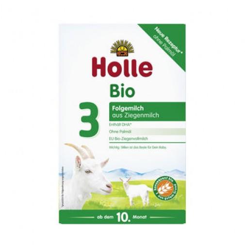 Holle ekologiškas tolesnio maitinimo ožkų pieno pagrindu mišinys nuo 10 mėn.