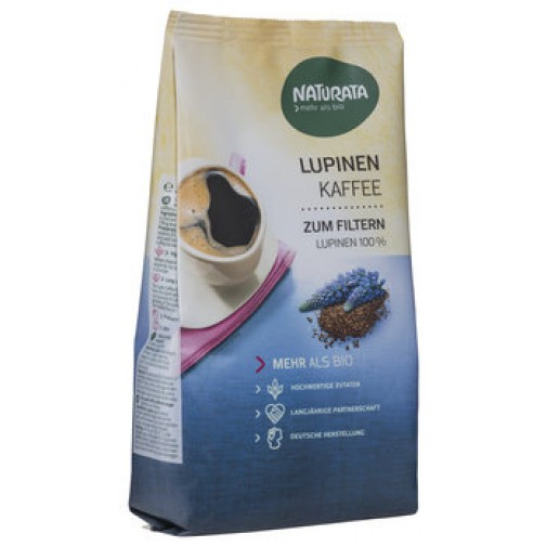 Naturata ekologiška 100% LUBINŲ KAVA, filtravimui, be kofeino