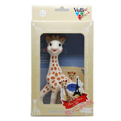 """vulli natūralus žaisliukas """"Žirafa"""" nuo 0+mėn."""