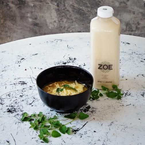 ZOE avižų ekologiškas fermentuotas gėrimo koncentratas - 0,75 litro