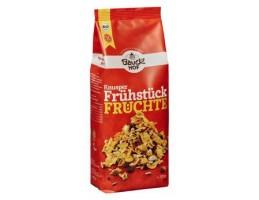 BauckHof ekologiški sausi pusryčiai su vaisiais, be glitimo