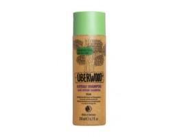 UBERWOOD  Ekologiškas DRĖKINANTIS šampūnas plaukams su pušų ekstraktu ir kviečių baltymais