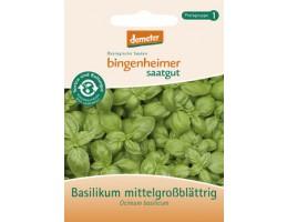 """Bingenheimer biodinaminės baziliko """"Ocimum basilicum"""" (vidutinio dydžio lapeliai) sėklos"""