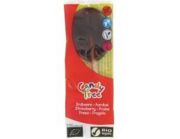 Candy Tree ekologiškas ledinukas ant pagaliuko su braškių sultimis