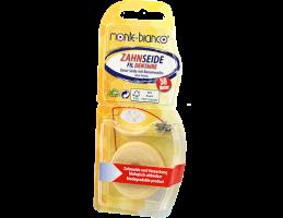 Monte-bianco dantų siūlas su bičių vašku, be aromato ( 50m )