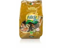 Felicia Bio trispalviai ryžių makaronai,ekologiški,be glitimo, 500g