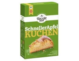BauckHof ekologiškas miltų mišinys greitam obuolių pyragui, be glitimo (ruošinys)