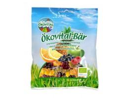 """Okovital-Bar ekologiški vaisiniai guminukai """"Meškiukai"""""""