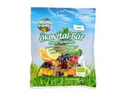 """Okovital-Bar ekologiški vaisiniai guminukai be želatinos """"Meškiukai"""""""