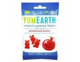 """Yumearth ekologiški granatų vaisiniai guminukai """"Meškiukai"""""""