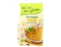 """EKIBIO ekologiški kukurūzų ir ryžių makaronai """"Spiralės"""""""