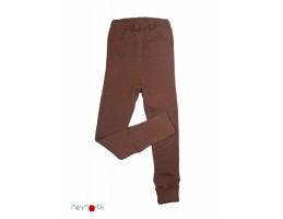 BabyIdea ek. vilnos kelnės rudos be pėdų ( 98-104/110 cm )