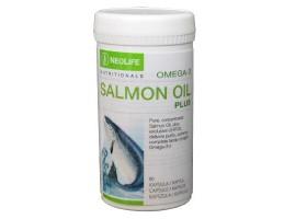 """""""Omega-3 Salmon Oil Plus"""", žuvies taukų maisto papildas"""