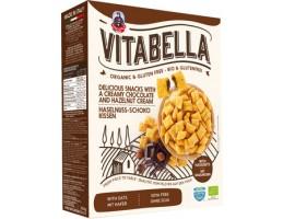 Vitabella ekologiškos Ryžių, avižų, kukurūzų pagalvėlės su kakavos ir riešutų įdaru, be glitimo