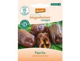 """Bingenheimer biodinaminių paprikų sėklos """"Šokolado spalvos"""""""