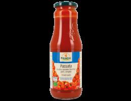 Primeal ek. pomidorų tyrė su jūros druska, 690g