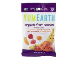 Yumearth ekologiški įvairių vaisių ir uogų guminukai
