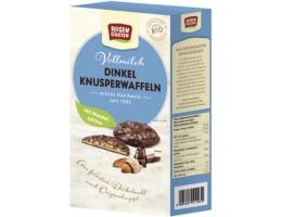 Rosengarten ek. traškus speltos vafliukas su migdolais ir pienišku šokoladu