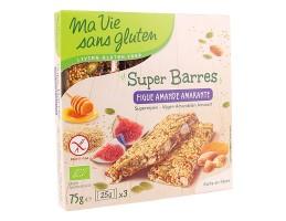 MVSG ek. super uogų, figų, migdolų, burnočio batonėlis, be glitimo 75g