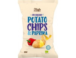 Trafo ekologiški bulvių traškučiai su paprika, 125g